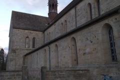 Klosterkirche von außen